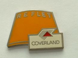 Pin's TUILE COVERLAND - REFLET - Badges