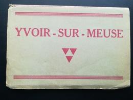 YVOIR  -  SUR -  MEUSE NAMUR WALLONIE BELGIQUE CARNET DE 9 VIEILLES CARTES POSTALES + 9  PHOTOS RÉVÉREND DOYEN YVOIR - Lieux
