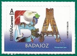 España. Spain. 2019. 12 Meses, 12 Sellos. Badajoz - 1931-Tegenwoordig: 2de Rep. - ...Juan Carlos I