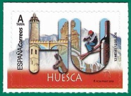 España. Spain. 2019. 12 Meses, 12 Sellos. Huesca - 1931-Tegenwoordig: 2de Rep. - ...Juan Carlos I