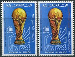 Maroc 1974. Michel #776/77 MNH/Luxe. Football World Cup, Germany-74 (Ts22) - Fußball-Weltmeisterschaft