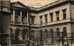 BELGIQUE .. MONS .. LE PALAIS DE JUSTICE  ... 1909 - Mons