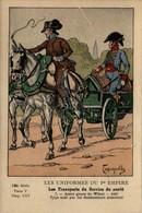 Les Uniformes Du 1er Empire - Les Transports Du Services De Santé - Autre Genre De Würst, 1807 - Uniformen