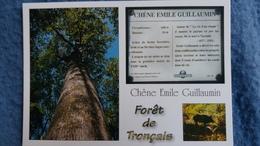 CPM ARBRE FORET DE TRONCAIS LE CHENE EMILE GUILLAUMIN SANGLIER  BICHE ED DU LYS - Arbres