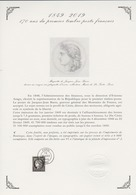 """FRANCE / 2019 / Y&T N° ?2019/03/14 : """"Cérès 1849-2019"""" Du Coffret Prestige Sur Document 1er Jour - Oblitéré 2019 03 14 - France"""