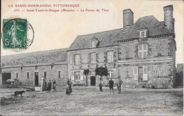 St Vaast La Hougue - La Ferme Du Thot -circulé - Saint Vaast La Hougue