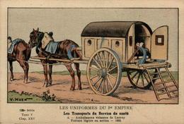 Les Uniformes Du 1er Empire - Les Transports Du Services De Santé - Ambulances Volantes De Larrey - En L'état - Uniformen