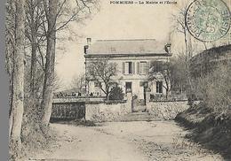 POMMIERS Aisne Ecole 1905 - France