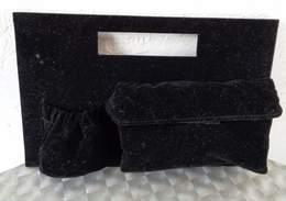 Sac Pochette  En Velours Noir   J.P. GAULTIER   FRAGILE - Accessoires