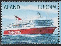 Aland 2009 Viking Line 1v Complete Unmounted Mint [4/4520/ND] - Aland