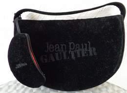 Sac Pochette  En Velours Noir   J.P. GAULTIER   FRAGILE + 2 Broches - Accessoires