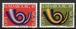 Luxemburg Mi 862,863 Europa Cept 1973 Gestempeld Fine Used - Luxemburg