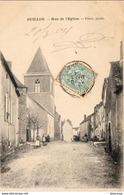 D89  GUILLON  Rue De L'Eglise - Guillon