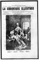 La Chronique Illustrée  - N° 108 Du 31 Décembre 1870 - Non Voyagée - War 1870