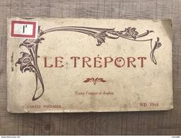 Carnet 11 Cartes Le Treport - Le Treport