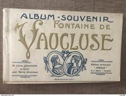 Carnet Fontaine De Vaucluse 20 Cartes - France