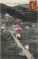 19 - Port-Dieu -   Le Pont - La Route De La Rode - Dans Le Haut, L'Eglise - 1908 - France