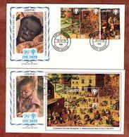 2 FDC, Jahr Des Kindes, Maseru 1979 (72925) - Lesotho (1966-...)