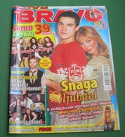 Alfonso Herrera Rodríguez Luisana Lopilato - BRAVO Serbian November 2007 VERY RARE - Books, Magazines, Comics