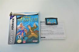 NINTENDO GAMEBOY ADVANCE: DISNEY'S ATLANTIS THE LOST EMPIRE WITH BOX - THQ - 2001 - Consoles De Jeux