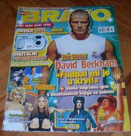 Avril Lavigne David Beckham Tarja Turunen - BRAVO Serbian August 2004 VERY RARE - Magazines