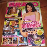 Beatriz Luengo Paris Hilton Beyonce -  BRAVO Serbian October 2006 VERY RARE - Magazines