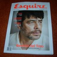 Benicio Del Toro - ESQUIRE - Serbian - July 2018 NEW And RARE - Magazines