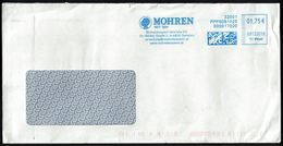 Autriche EMA Empreinte Postmark MOHREN Mohrenbrauerei Vertriebs KG 6850 Dornbirn - Affrancature Meccaniche Rosse (EMA)