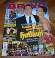 Brad Pitt Angelina Jolie -  BRAVO Serbian February 2007 VERY RARE - Magazines