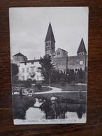 L19/376 Tournus. Abbaye. Nouveaux Jardins - Autres Communes