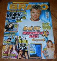 Brad Pitt Ville Valo Dido HIM -  BRAVO Serbian January 2005 VERY RARE - Magazines