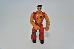 Vintage ACTION FIGURE : MEGA PAINE ACTION MAN ATOM - Original Hasbro 2005 - Alpha Teens On Machines - Action Man