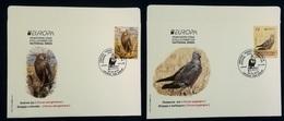 MACEDONIA NORTH 2019 - EUROPA  NATIONAL BIRDS FDC - Mazedonien