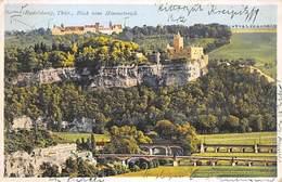 Saaleck, Rudelsburg, Thüringen, Blick Vom Himmelreich - Allemagne