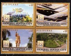 PHILIPPINES, 2018, MNH, GENERAL SANTOS CITY, FISH, TUNA , 4v - Fishes