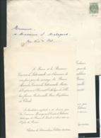 F.P. Mariage De Mlle Marie Magdeleine De Clerck Avec Le Baron Alexandre Cavrois De Saternault Le 25/08/1902  Bpho0801 - Wedding
