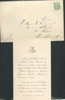 St Genest D'Ambières F.P. Mariage De Mlle Valérie Mesnard Avec M Gustave Lambert  Le 28/10/1902  Bpho0802 - Wedding