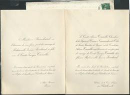 Chatellerault  F.P. Mariage De Mlle Jeanne Borchard Avec Le Comte Georges Treuillé Le 23/06/1913   Bpho0803 - Wedding