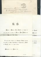 La Tour De Naintré  F.P. Mariage De MlleSara Salis Avec M René Ranché Le 18/11/1902       Bpho0804 - Wedding