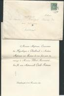 Paris / Chatellerault  F.P. Mariage De Mlle  Cécile Frémau Avec M Albert Massonet Le 24/11/1897       Bpho0805 - Wedding