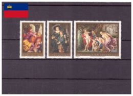 Liechtenstein 1976 - MNH ** - Rubens - Peinture - Michel Nr. 655-657 Série Complète (lie934) - Liechtenstein