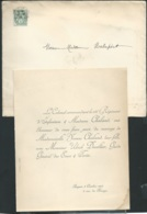 Angers / Chatellerault F.P. Mariage De Mlle Yvonne Chaland Avec M Ulrich Ducellier Le 8/10/1903  Bpho0810 - Wedding