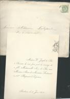 Bordeaux / Blaye  F.P. Mariage De Mlle Anne De Séré Avec M Adrien De Morineau Le 17/06/1902  Bpho0811 - Wedding