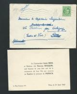 F.P. Naissance De Patrick Riehl Le 21/08/1947   Bpho0817 - Birth & Baptism