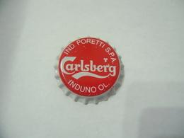 TAPPO BIRRA CARLSBERG PORETTI INDUNO OLONA VARESE CROWN CORONA KRONKORKEN NUOVO - Beer