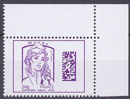 Timbre Neuf ** N° 4976(Yvert) France 2015 - Marianne De Ciappa-Kawena, Monde Datamatrix - 2013-... Marianne De Ciappa-Kawena