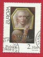 Polen / Polska   2003 Mi.Nr. 4050 , EUROPA CEPT - Plakatkunst  - Gestempelt / Fine Used / (o) - Europa-CEPT