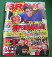 Brandon Routh As Superman - BRAVO Serbian July 2006 VERY RARE - Magazines