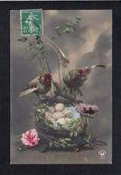 Fête Voeux  / Joyeuses,Heureuses Pâques / Oiseaux,oeufs - Pâques