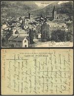 CPA-FRANCE--EMBRUN VUE GENERALE AU FOND VUE DE CREVOUX PARPAILLON - Embrun